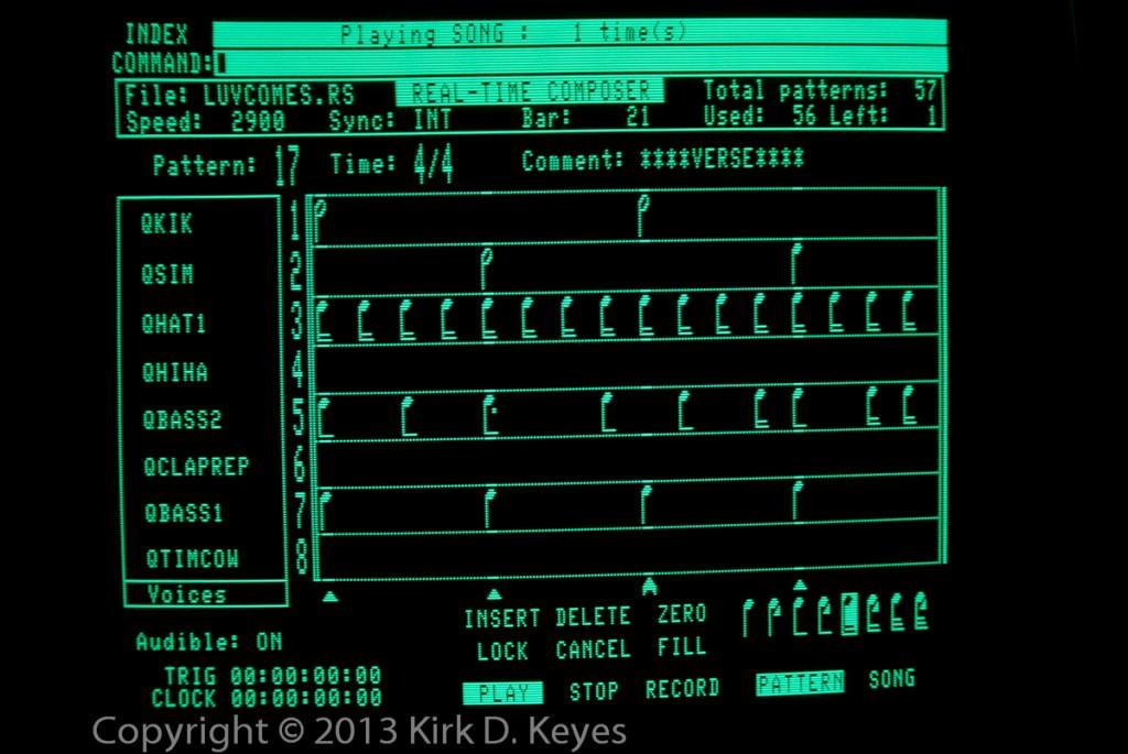 PSB LUVCOMES.RS - Bar 21 - Verse