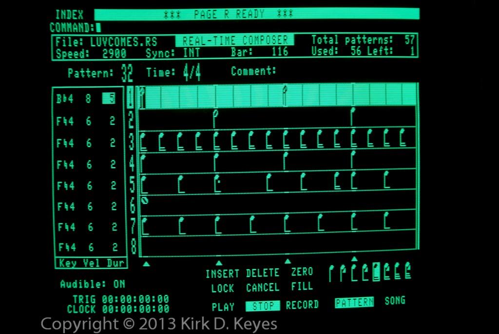 PSB LUVCOMES.RS - Bar 116 Track 1